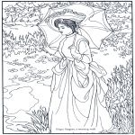 Real art coloring pages (and others too)