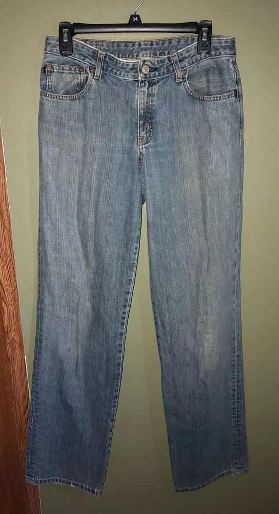 b9c08faf763 Polo Ralph Lauren Womens Straight Leg Saturday Jeans Medium Wash Size 6 |  eBay