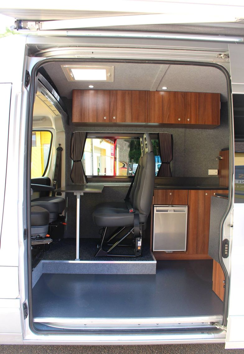 Seating For 4 Passengers Camper Van Conversion Diy Van