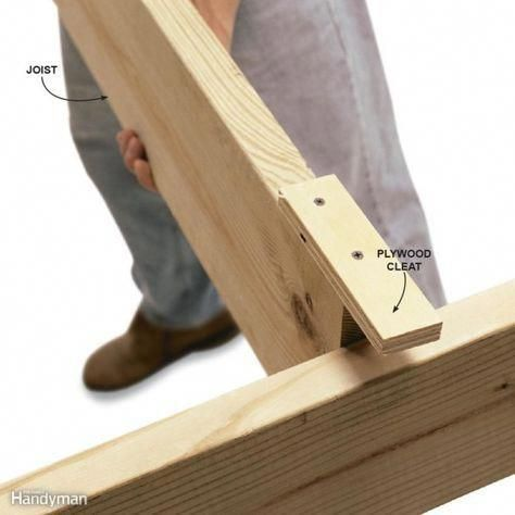 Screw On A Cleat To Hold A Board Smart Tips For Working Alone