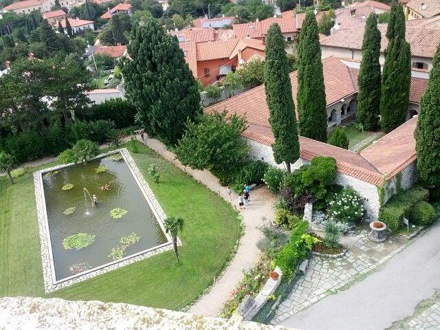 Gardens of Duino castle ) Castle, Italia, Italy