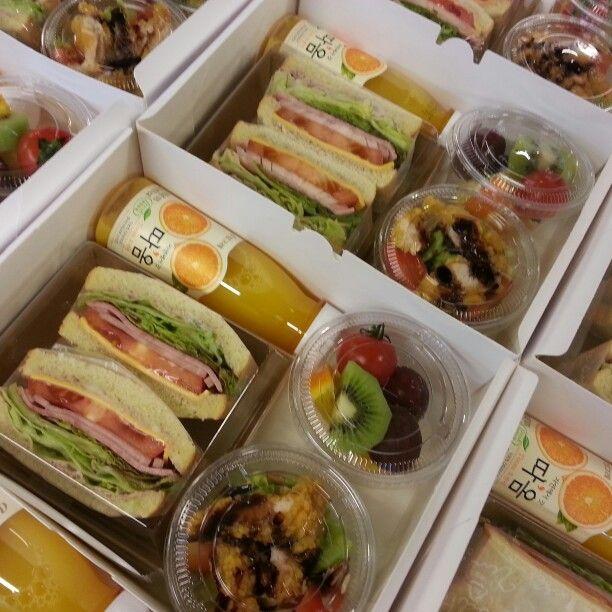 샌드위치박스 | Banquete | Pinterest | Desayuno, Cafetería y Comida