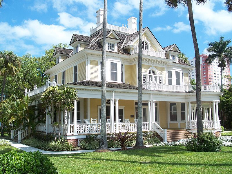 The Murphy Burroughs House Fort Myers Florida Built In 1901