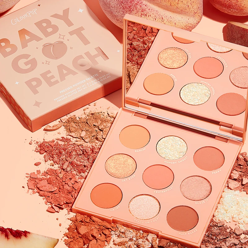 Baby Got Peach in 2020 Peach eyeshadow, Peach palette