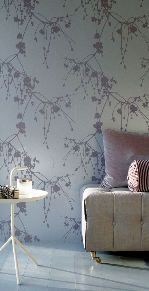 Snowberry Wallpaper, design By Helene Blanche, TAPET-CAFE