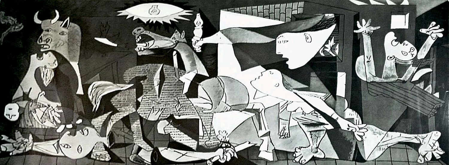 Pablo Picasso Guernica 1937 Offset Lithograph | Products, Guernica ...