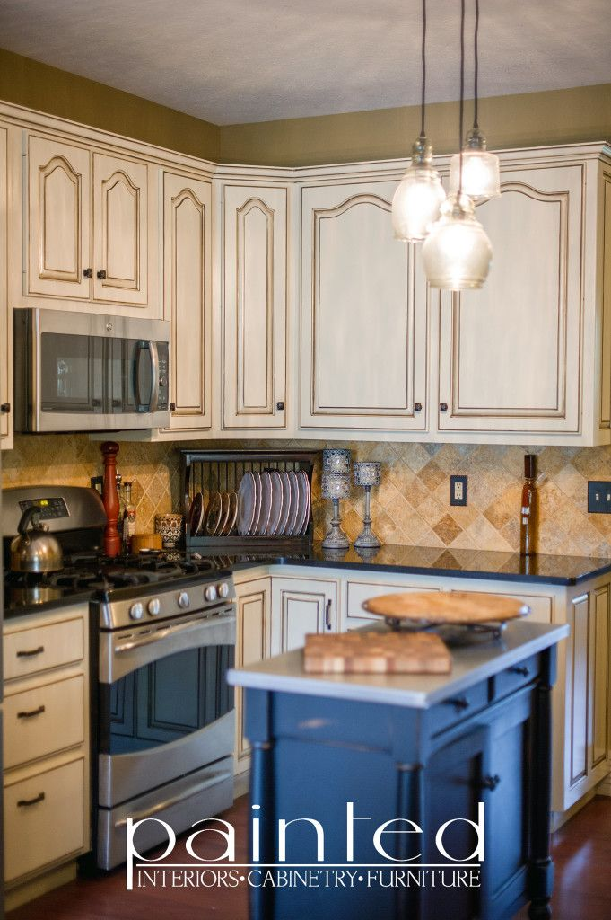 Custom Work Cabinetry Inspiration Glazed Kitchen Cabinets