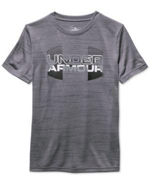 46ff58778 Under Armour Big Logo Hybrid T-Shirt, Big Boys (8-20) -   Products ...