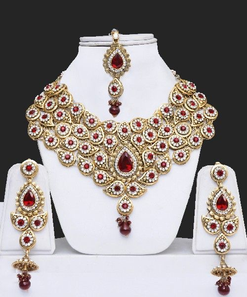 Indian Wedding Costume Jewellery Sets