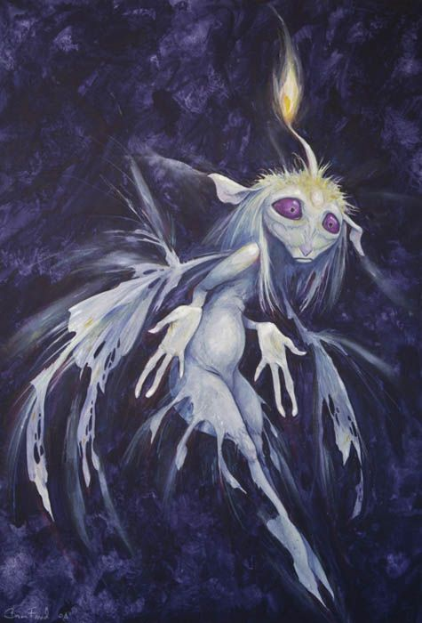 Blue Flame Faery by Brian Froud   By Brian Froud ...