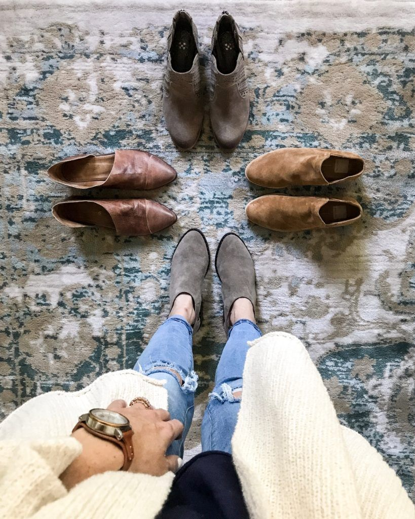 e92a7c1628dc I Tried Them All - The Best Low Heel Booties for All Budgets ...