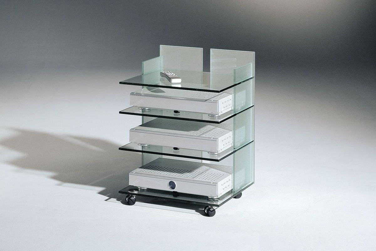 Impressionnant Meuble Hifi Moderne D Coration Fran Aise  # Table Tv Et Chaine Hifi Moderne
