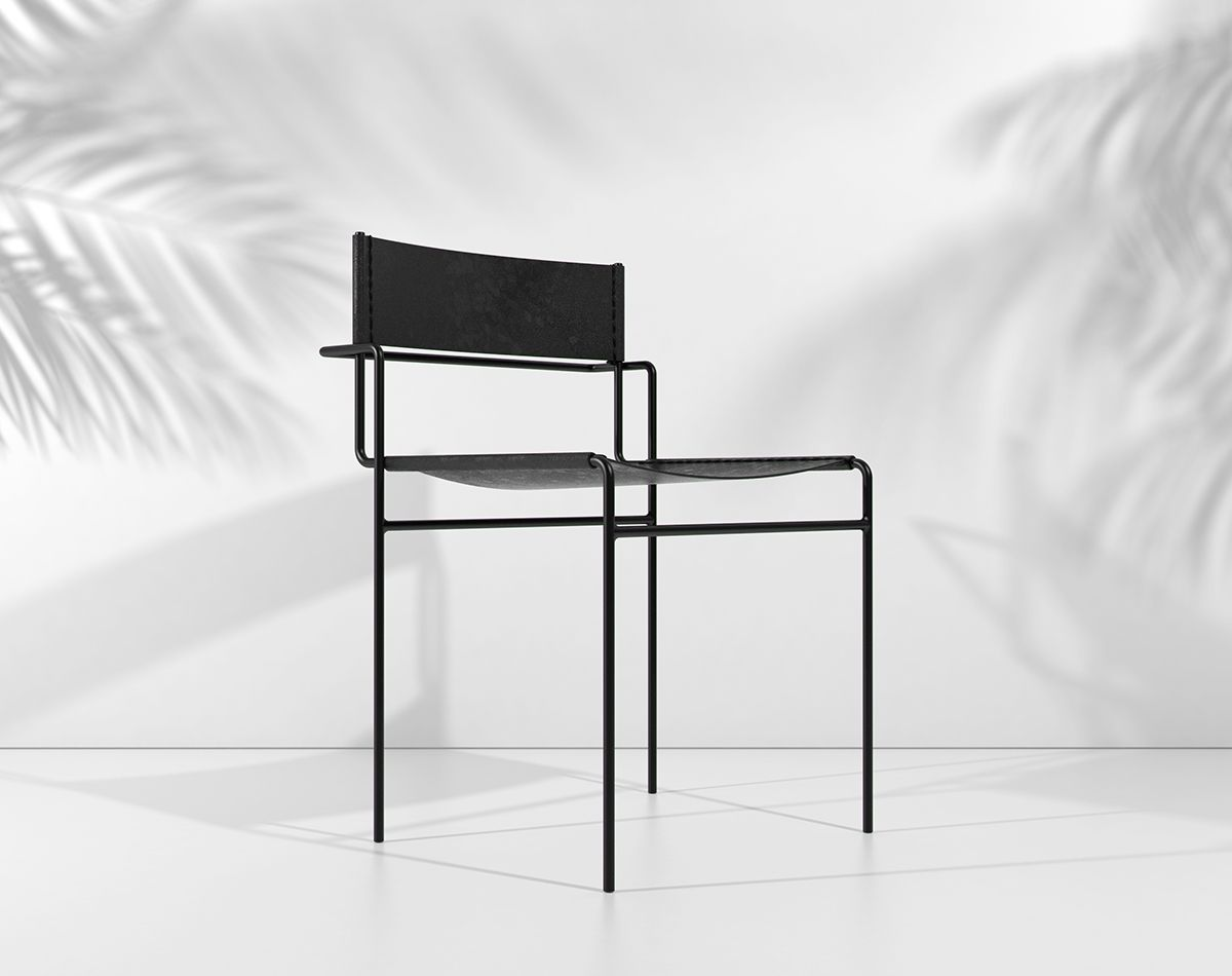 Pedro paulo venzon t mida chair 7 objetos donde for Muebles paulo