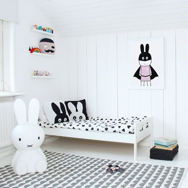 Image result for white kids room