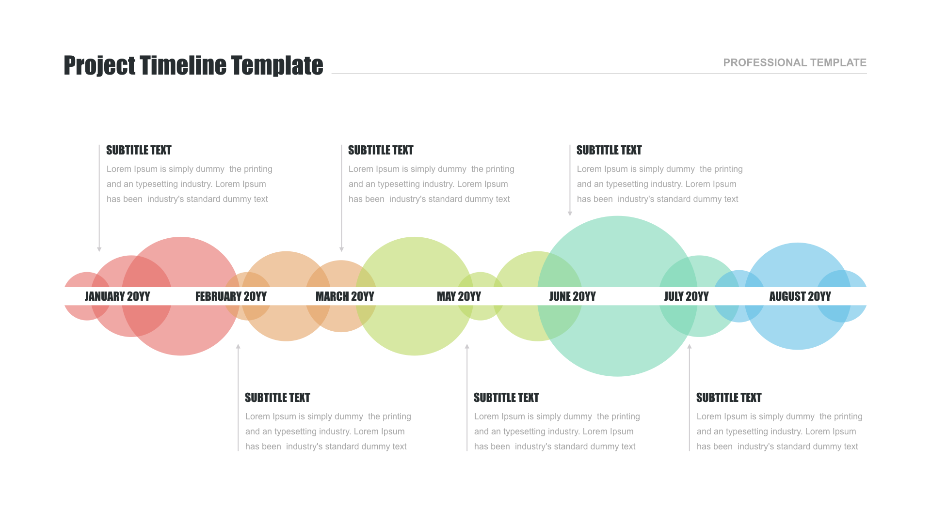 project timeline template free download special for google slides in 2020 powerpoint keynote design