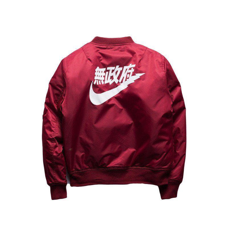a242e394c Air Kanji Anarchy Bomber Jacket | ✨Stuff I want | Bomber jacket men ...