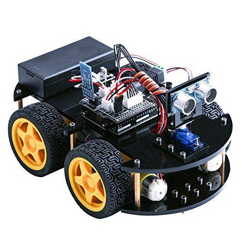 Elegoo uno project upgraded smart robot car kit with uno r3 line elegoo uno project upgraded smart robot car kit with uno r3 line tracking module malvernweather Choice Image