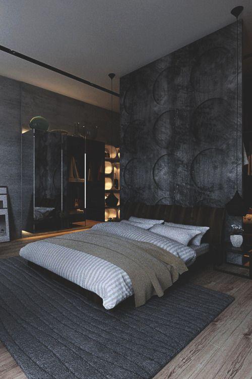 OverDoz schlafen Pinterest Männliche Zimmer, Teufel und Grau - moderne schlafzimmer designs