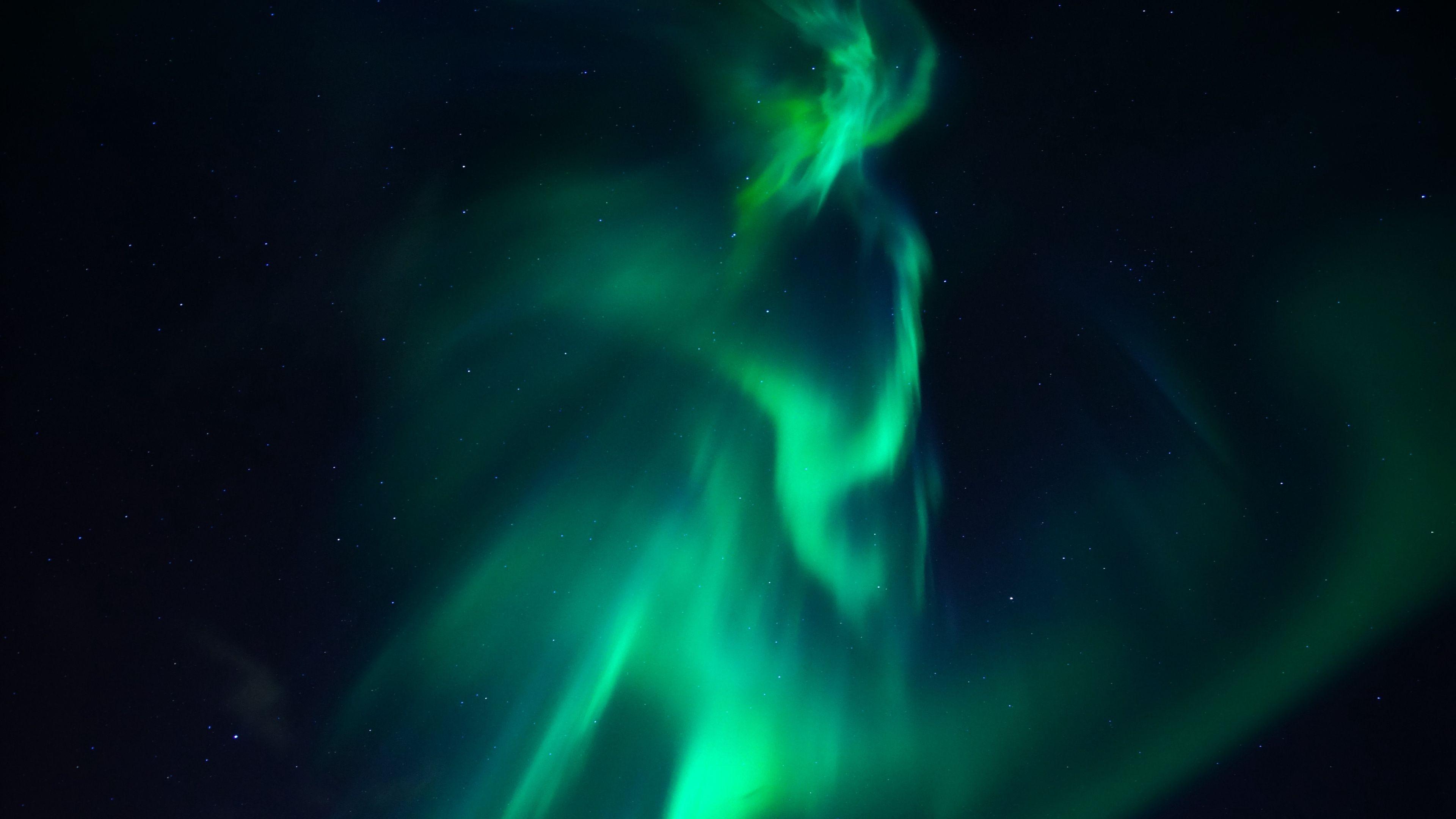 Northern Lights Aurora Starry Sky 4k Starry Sky Northern