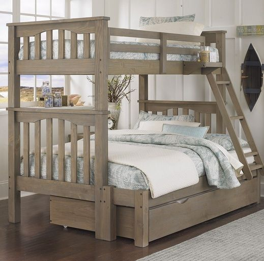 Rustic Twin Bunk Beds With Trundle Bunk Bed With Trundle