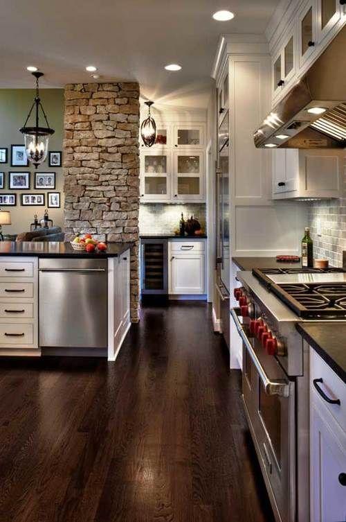 Impresionantes Ideas para Decorar la Cocina con Piedras | Home decor ...