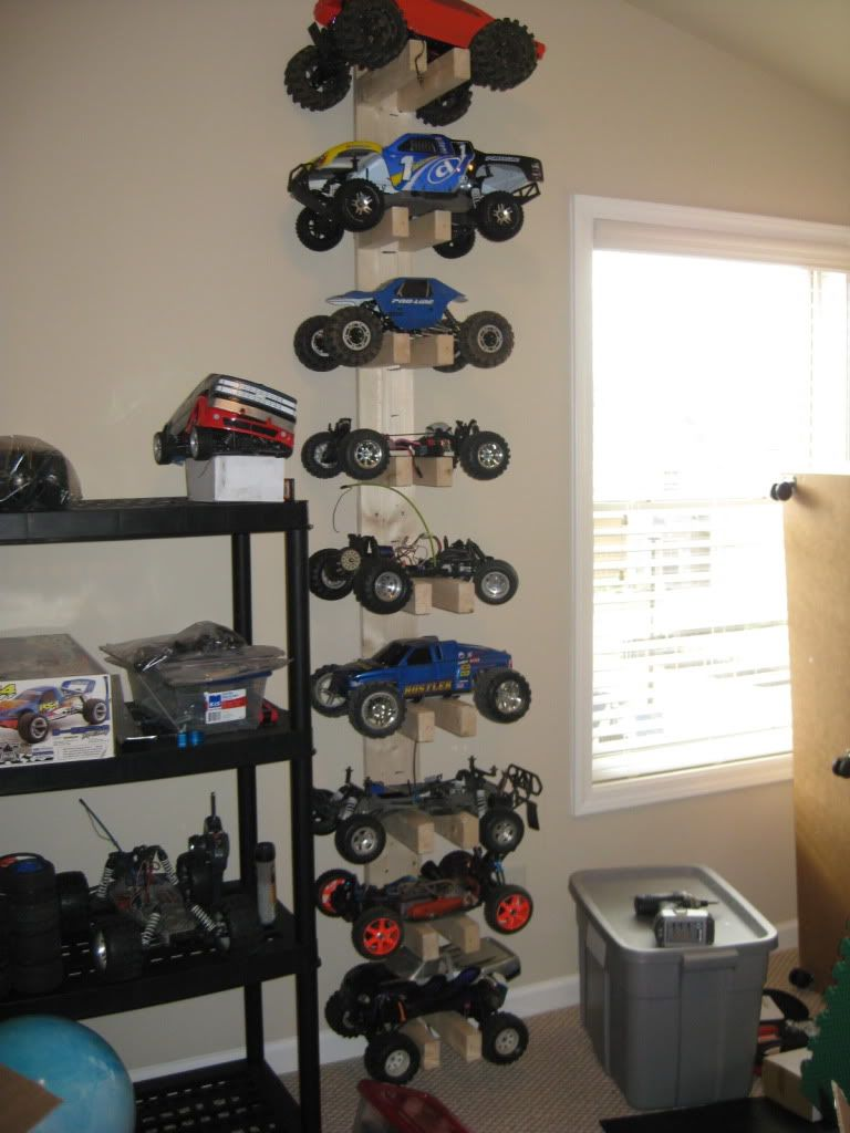 Cheap And Simple Diy Rc Storage Rack Rc Cars Rc Cars