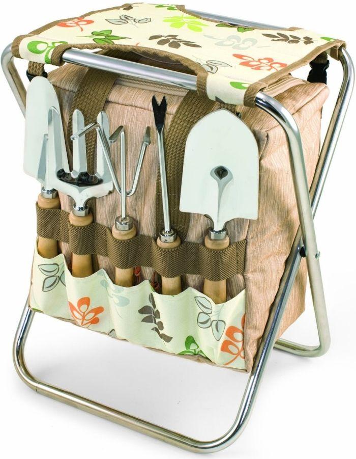 31c0c1846ba22d621c42dc70a6beef1d - Picnictime Gardener Chair And Tools Set