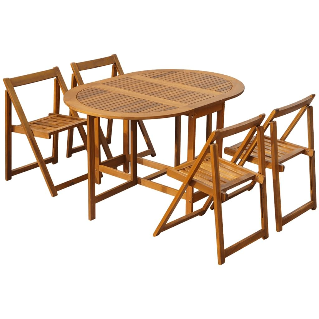 Free 2day shipping. Buy 5 Piece Folding Outdoor Dining