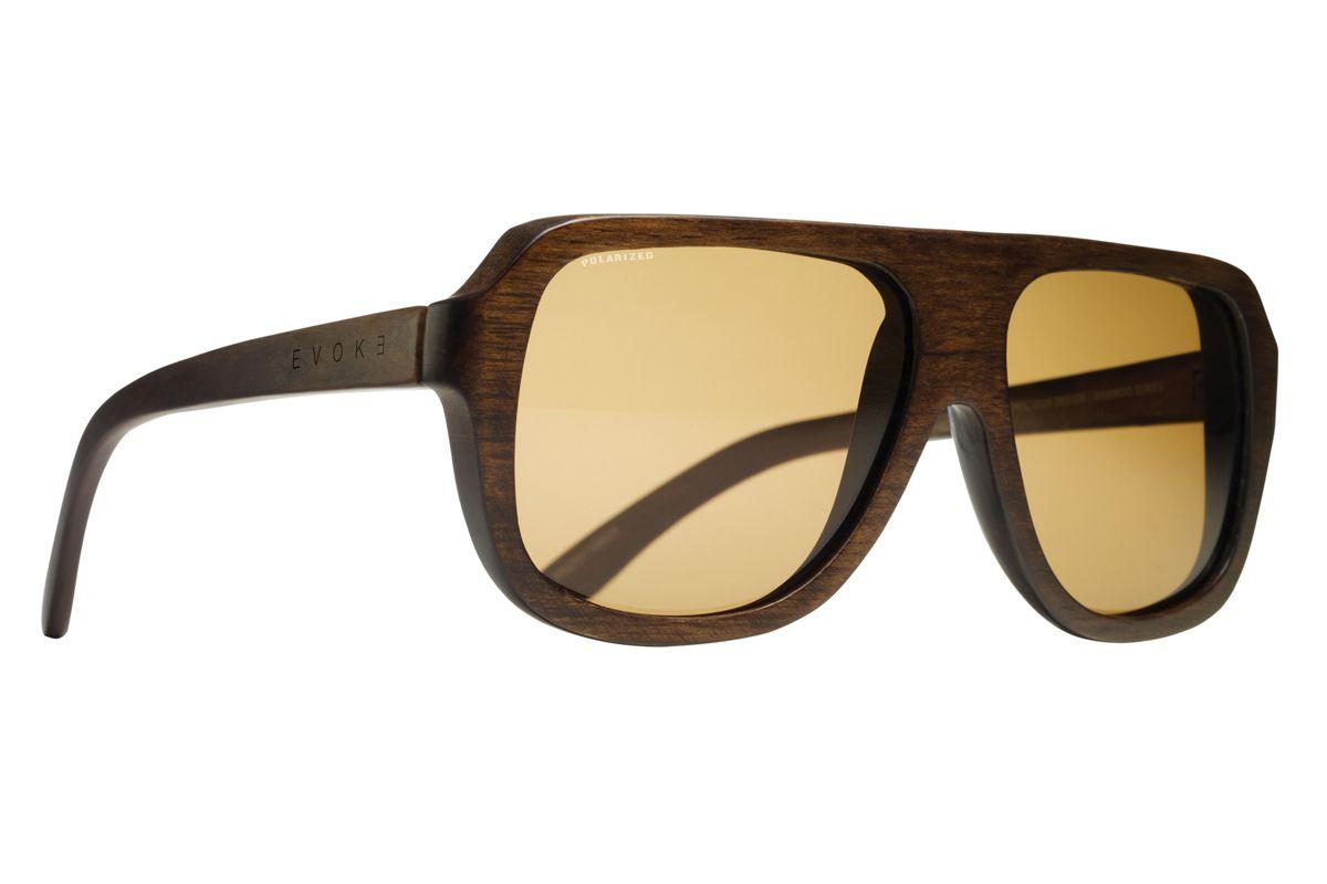 5465ecc1f Wood Series 01 Dark Wood Laser Brown Polarized. Produzido artesanalmente na  Itália em bambu e desenhado com exclusividade pelo Studio Evoke.