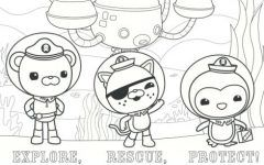 Disney Junior Octonauts Coloring Pages