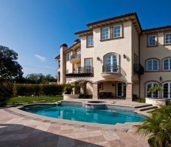 Beverly Hills Villa Rental House Rental House Mansions
