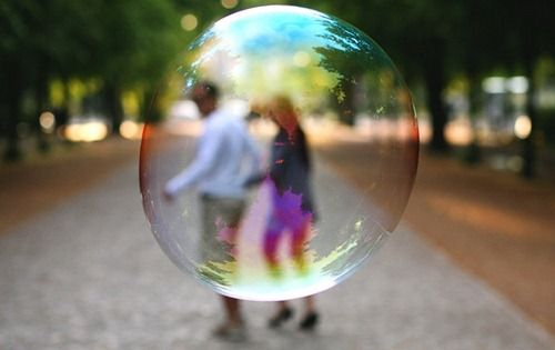 """ We got no troubles life is the Bubbles"""