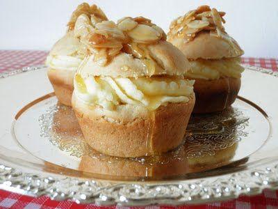 Bienenstich Cupcakes vegan cupcake  muffin recipes Pinterest - alma küchen essen
