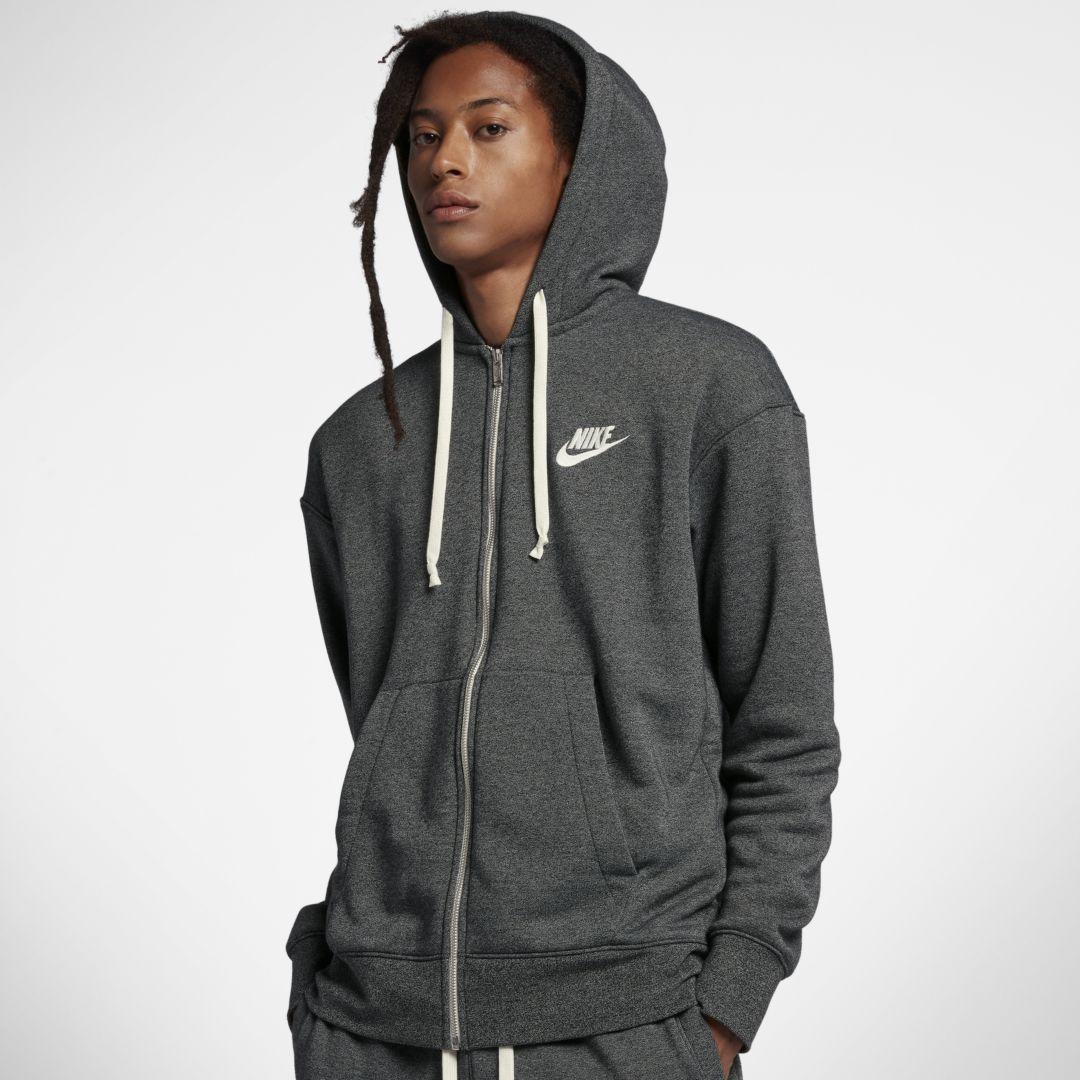 Nike Sportswear Heritage Men's Full Zip Hoodie Size XS
