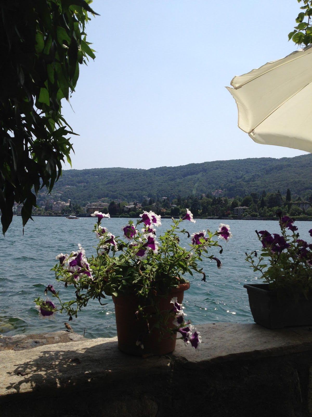 Looking at Lake Maggiore from Isola Bella, Italy