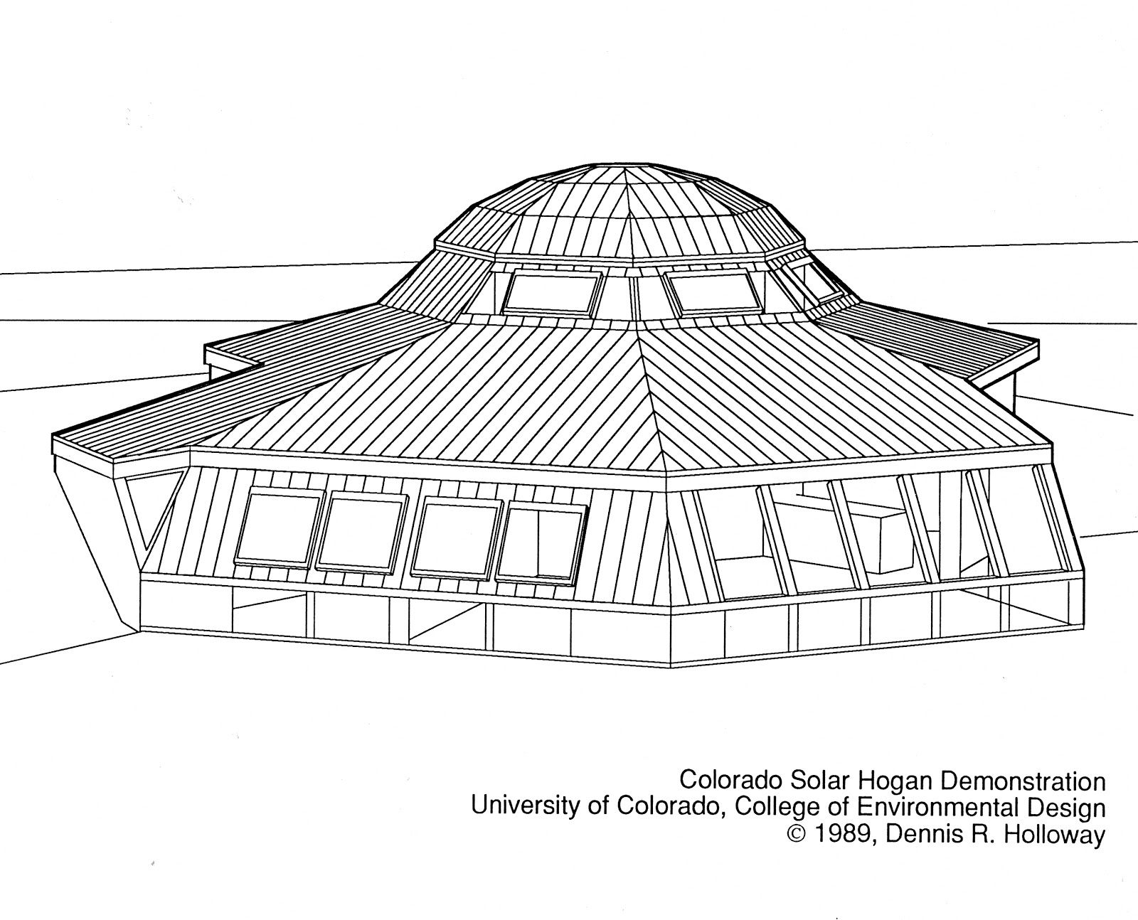 Navajo Hogan Plans   the solar hogan is a sustainable energy ...
