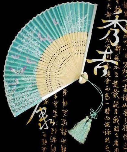 Content Wall Decals Japanese Fan - 18 inches x 15 inches - Peel and ...