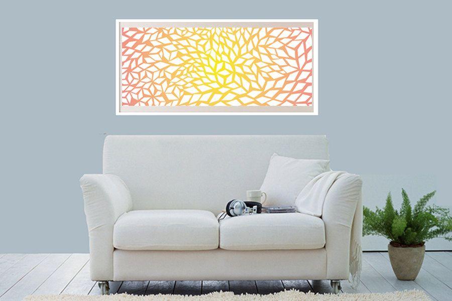 Abstract Art Digital Painting, abstract art, large abstract art, painting, abstract painting, large abstract print, modern artwork, decor. $120.00, via Etsy.
