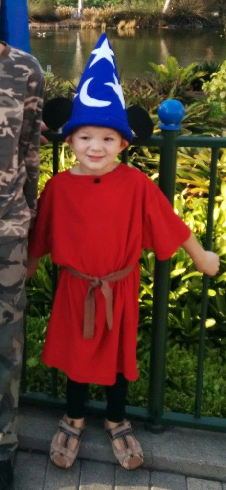 halloween costume on a budget sorcerer mickey mouse - Baby Mickey Mouse Halloween Costume