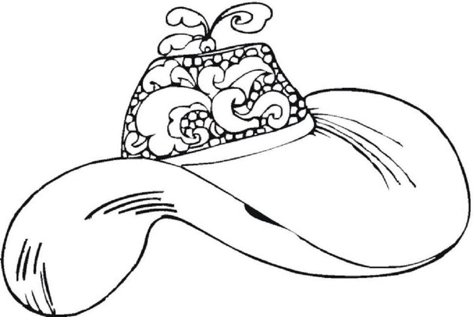 Women S Hats Coloring Pages Hats For Women Coloring Pages