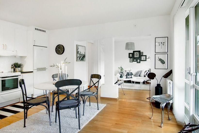 Male Mieszkanie Otwarta Zabudowa Malego Mieszkania Otwarta Przestrzen Malego Mieszkania Aranzacja Otwartej Przestrzeni W Malym Mieszka Home Decor Interior Room