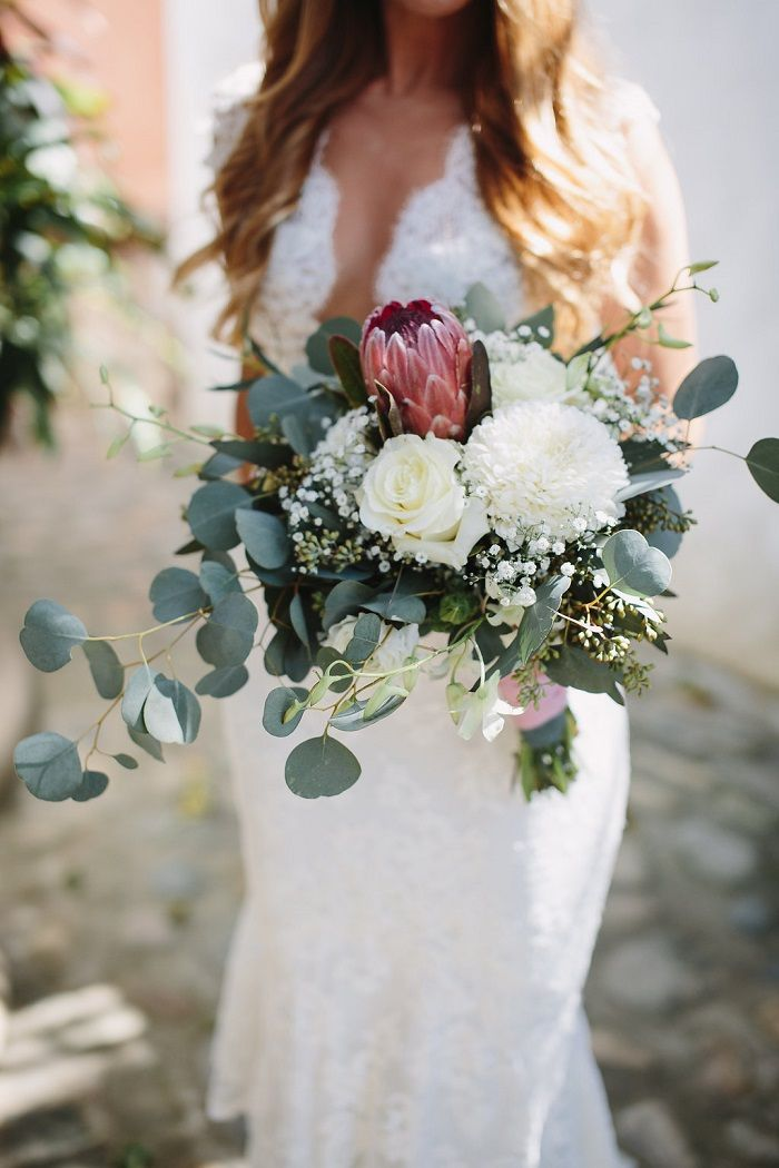 Beach wedding bouquet | Fab Mood