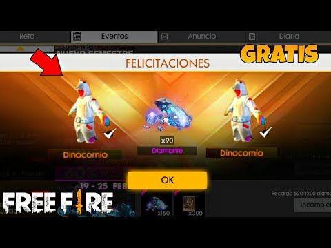 Como Conseguir Gratis El Set Dinocornio En Free Fire Diamantes Gratis Free Fire Korrente Juegos De Disparos Free Hack De Gemas