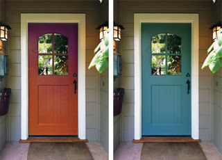 Color Door On Tan Siding Monday August 1 2011 Exterior Door Colors Painted Front Doors Front Door Paint Colors