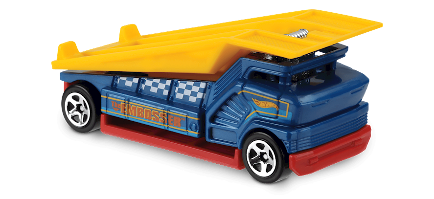 The Embosser In Blue Experimotors Car Collector Hot Wheels Hot Wheels Diecast Cars Collector Cars