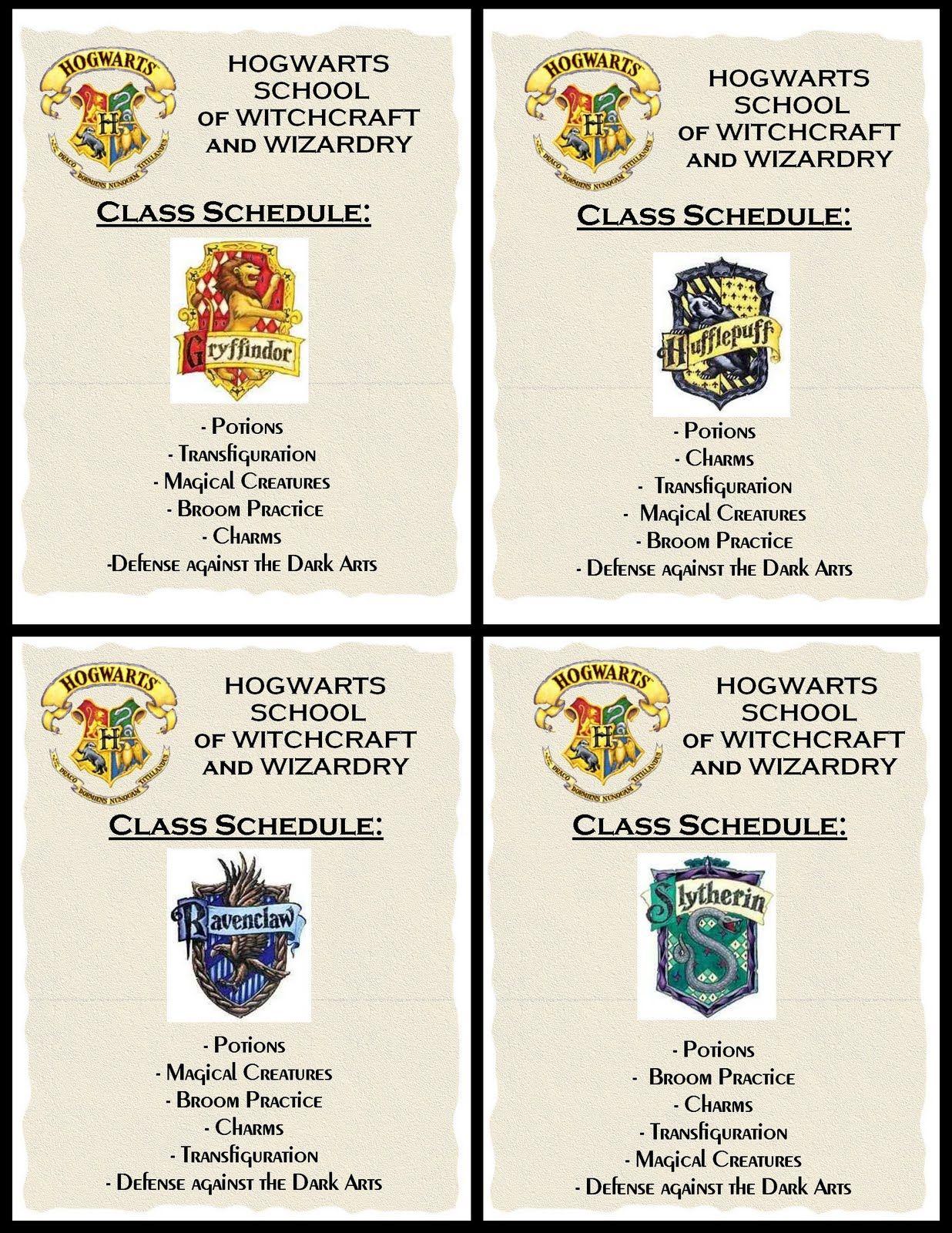Class Schedules Creative And Cheap