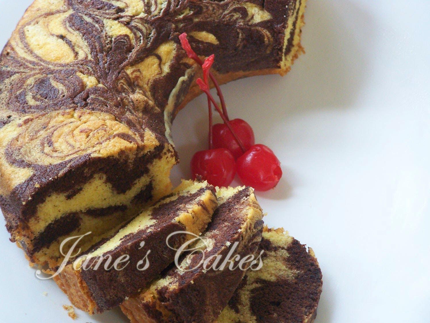 Resep Aneka Cokelat Resep Marmer Cake Keju Indonesian stuff
