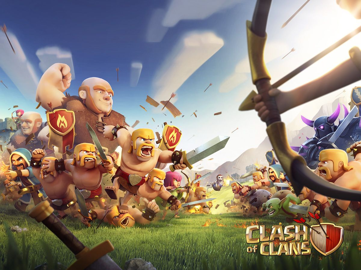 Clash Of Clans Cover Game Wallpaper