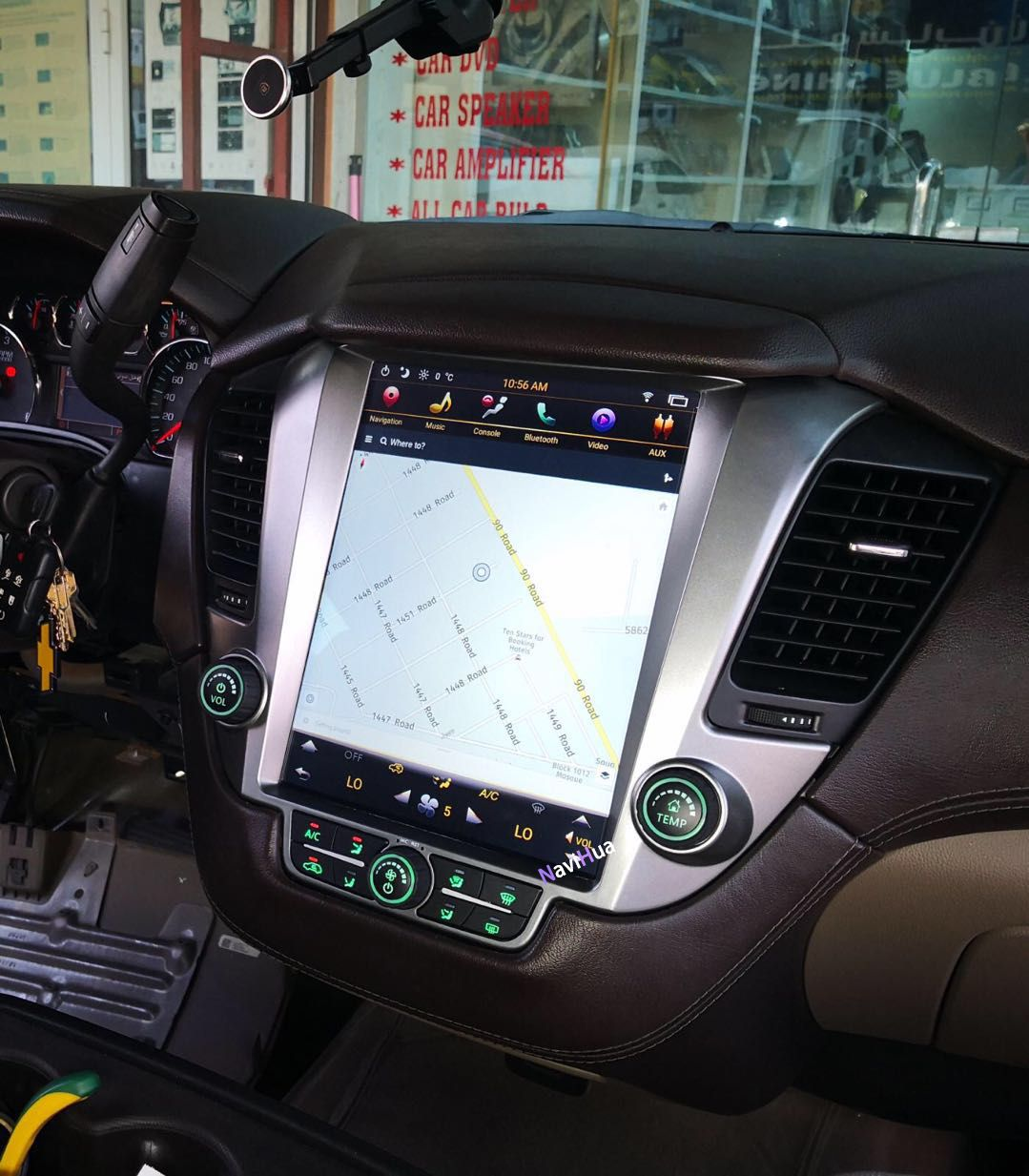 This Android Navigation Radio Can Be Installed In Chevrolet Tahoe