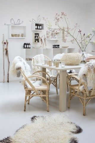 Love the shop Sukha in Amsterdam Everything is white and natural